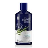 AVALON ORGANICS湛藍B群健髮精油洗髮精(414ml/14oz)