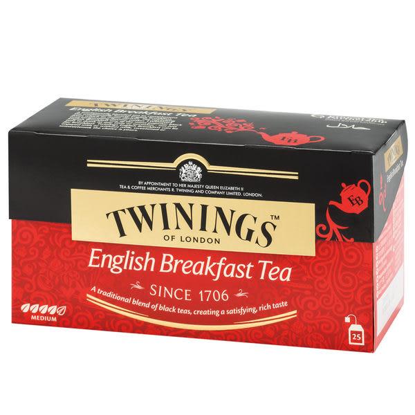 唐寧茶【Twinings】英倫早餐茶(2gx25入茶包)