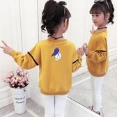 女童衛衣2019春秋裝新款大童洋氣8長袖T恤10兒童12歲小女孩打底衫『快速出貨』