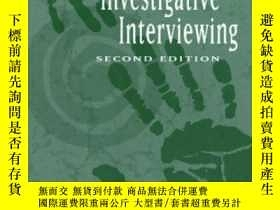 二手書博民逛書店The罕見Art Of Investigative Interviewing, Second EditionY