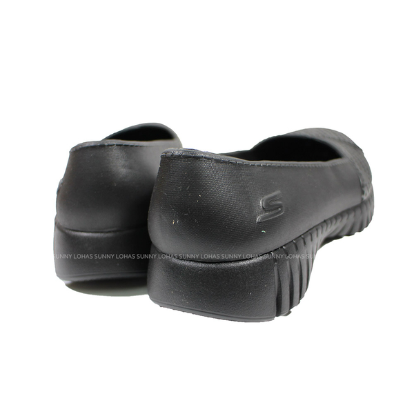 (B5) SKECHERS 女鞋 GO WALK SMART水鞋 雨鞋 健走鞋 防水 111117BBK 黑 [陽光樂活]