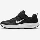 Nike WearAllDay PS 童鞋 中童 慢跑 透氣 緩震 魔鬼氈 黑 【運動世界】CJ3817-002