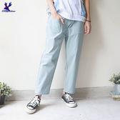 【下殺↘5折】American Bluedeer-貼口袋休閒褲 春夏新款