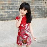 女童旗袍唐裝兒童洋裝中國風童裝