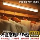 [10cm] 感應式LED燈條 LED充電感應燈 LED燈 感應燈 櫥櫃燈 感應燈條 小夜燈【RS1315】