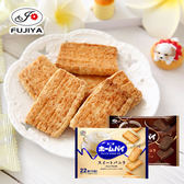 日本 FUJIYA不二家 家庭派 114.4g 香草 巧克力 餅乾 千層派 家庭派