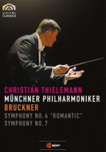 【正版全新DVD清倉  4.5折】【C Major】 布魯克納:第四、七號交響曲(提勒曼, 慕尼黑愛樂)【DVD】