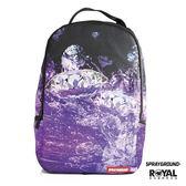 SPRAYGROUND 新竹皇家 紫色 鑽石 潮流 後背包 NO.H1716