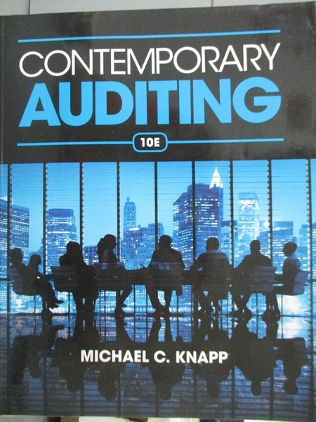 【書寶二手書T5/大學商學_YCH】Contemporary Auditing: Real Issues and Cas