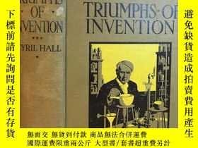 二手書博民逛書店1920罕見Triumphs of Invention by C