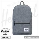 Herschel 後背包 防水拉鍊 平板/15吋電腦後背包 Pop Quiz 得意時袋