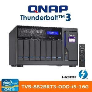 QNAP 威聯通 TVS-882BRT3-ODD-i5-16G 8Bay網路儲存伺服器