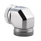 Phanteks 追風者PH-A90_CR12 G1/4 12mm硬管對硬管90度接頭 – 銀色
