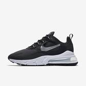 Nike Air Max 270 React [CQ4598-071] 男鞋 運動 休閒 氣墊 避震 舒適 穿搭 黑銀