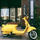 電動車 小龜王電動車邏馬假日電瓶車 復古電摩女士雙人踏板車自行車 MKS 99一件免運