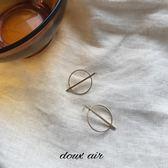 框 | 復古 chic 圓環 幾何 耳釘