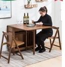 折疊家用餐桌可移動小戶型