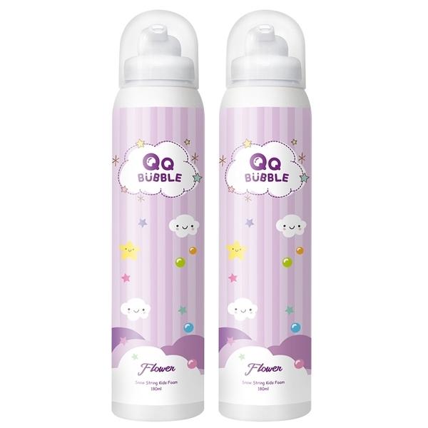 QQBubble 神奇好玩魔法沐浴泡泡慕斯~花香泡泡紫(超值2入)