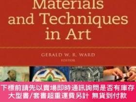 二手書博民逛書店The罕見Grove Encyclopedia of Materials and Techniques in Ar