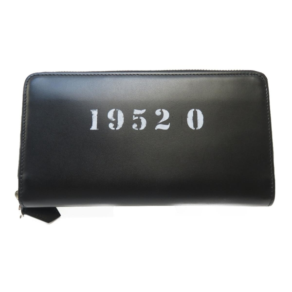 GIVENCHY 紀梵希 黑色牛皮長夾 Long Zipped Wallet【二手名牌BRAND OFF】