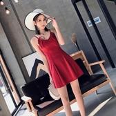 2019夏季新款裙子時尚氣質禮服性感夜店女裝潮露背吊帶抹胸連身裙