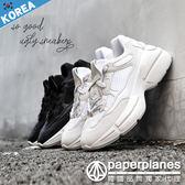 正韓製✦版型正常✦ 原宿百搭 情侶最愛 造型 超厚底 休閒鞋【B7901474】2色 韓國品牌紙飛機