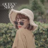 Queen Shop【07070159 】復古配色膠框造型眼鏡 兩色售*現+預*