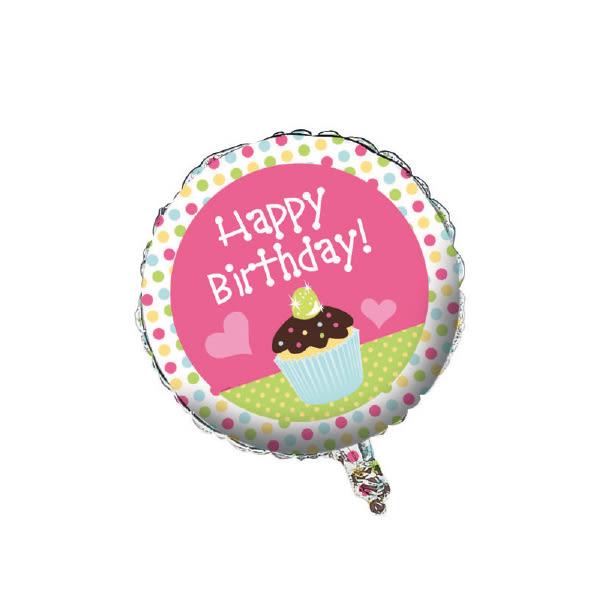 18吋鋁箔氣球(不含氣)-杯子蛋糕