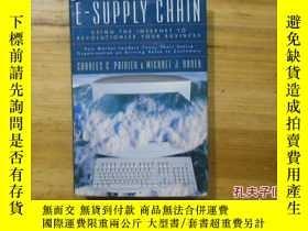 二手書博民逛書店【英文原版】E-SUPPLY罕見CHAIN:using the internet to revolutionize