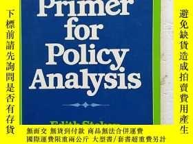 二手書博民逛書店A罕見Primer for Policy Analysis【政策