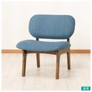 ◎實木餐椅 RELAX MBR/TBL 橡膠木 NITORI宜得利家居