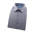 【南紡購物中心】【襯衫工房】長袖襯衫-藍色條紋