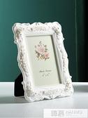 6寸7寸8寸10寸白色歐式洗照片加相框組合創意照片擺件擺台現代簡 夏季新品