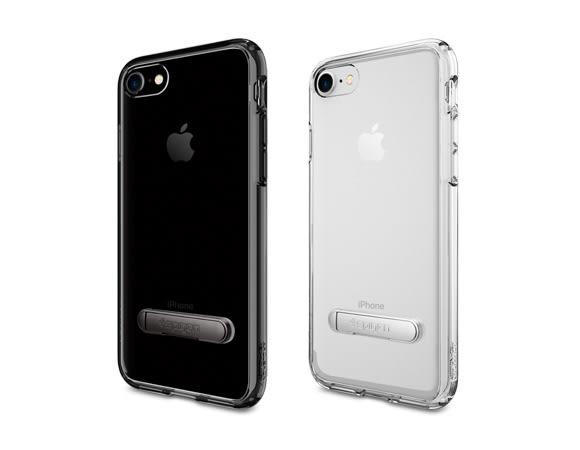 【贈玻璃貼】SPIGEN SGP iPhone 8 7 4.7吋 Ultra Hybrid S 支架 強化邊框 透明背蓋 保護殼 手機殼 i7