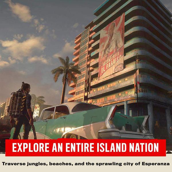 PS4 極地戰壕6 極地戰嚎 6 Far cry 6 中文版 可升級到 PS5 版本 【預購2021夏季】