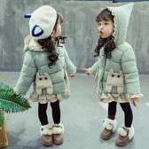 女寶寶棉服冬裝加厚羽絨棉身兒童2洋氣3歲棉襖女童冬季嬰兒外套1