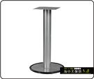 {{ 海中天休閒傢俱廣場 }} C-99 摩登時尚 餐桌腳系列 481-16 單管餐桌腳/烤黑/烤銀高腳