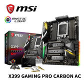 MSI 微星 X399 GAMING PRO CARBON AC TR4腳位 主機板