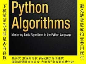 二手書博民逛書店Python罕見Algorithms 2nd EditionY364682 Magnus Lie Hetlan