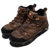 Merrell 戶外鞋 Moab 2 Mid GTX 咖啡 黑 Vibram大底 健行 登山鞋 男鞋 【PUMP306】 ML06063