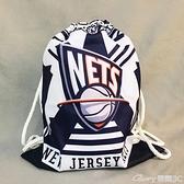 籃球包快船籃網湖人袋子籃球袋球袋學生便攜籃球包訓練包後背多功能抽繩 榮耀 618