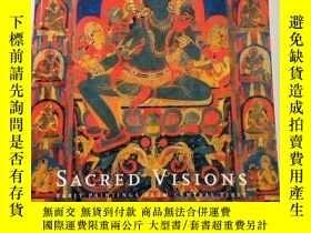 二手書博民逛書店【包罕見】Sacred Visions: Early Paint