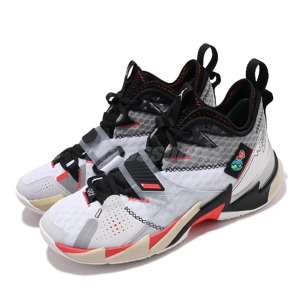 Nike Jordan Why Not Zer0.3 PF Unite 白 紅 男鞋 籃球鞋 喬丹 Russell Westbrook 【ACS】 CD3002-101