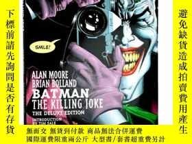 二手書博民逛書店英文原版罕見蝙蝠俠 小丑 致命玩笑 Batman:The Kil