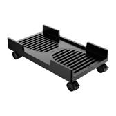 臺式電腦主機支架托架可移動主機箱架簡約多功能托架滑輪帶剎車【618優惠】