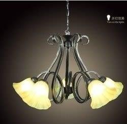 設計師美術精品館歐式吊燈 美式鄉村臥室房間燈飾 簡約藝術客廳燈具D514