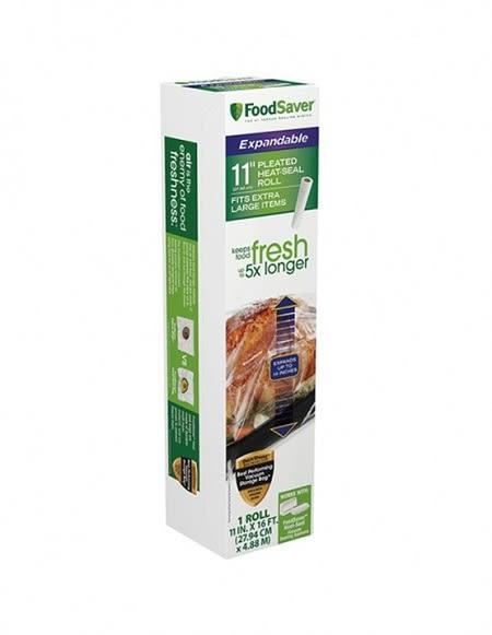 兩盒8折優惠組【美國 FoodSaver】專用真空加大立體卷1入裝(11吋)(一入裝,共計兩卷)