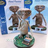 正版 NECA E.T. 7吋 搖頭公仔 E.T.外星人 ET 搖頭娃娃搖頭公仔 擺飾 COCOS NN800