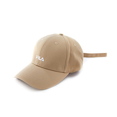 FILA 經典 男女款 LOGO棒球帽 卡其色 HTV-5002-KK 【KAORACER】