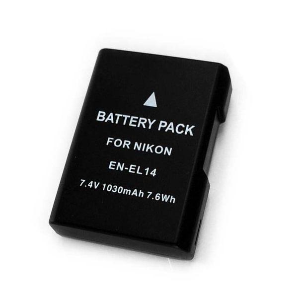 【EC數位】破解版 Nikon D5600 EN-EL14 ENEL14 EN-EL14a 防爆高容量鋰電池